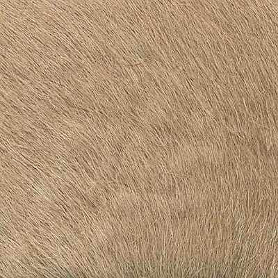 Cow hide hair - plain colour